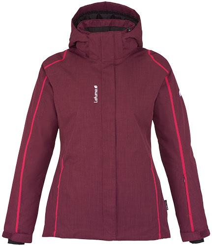 Lafuma (www.lafuma.com) Lafuma Ld Rosland Jkt, giacca da sci in Climactive 2L idrorepellente e imbottitura in Technowarm Loft. Cappuccio removibile, fascia interna para-neve (200 Euro)