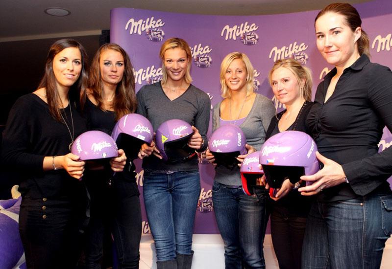 Le Ski girls del team Milka - SciareMag